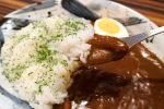 ごろっとお肉の平戸カレー。もちろん肉も野菜も長崎県の平戸産。