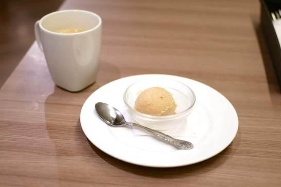 渋皮栗のアイスクリーム