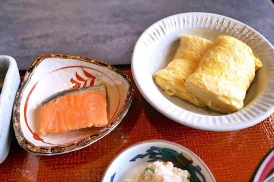 卵焼き&鮭西京焼き