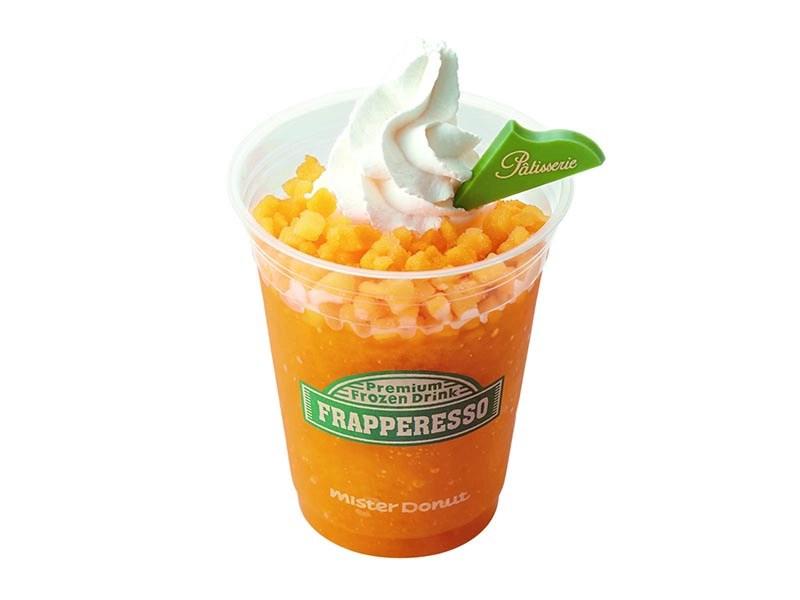 アイスと様々な食感を楽しむミスドのフラペレッソ!本格派フローズンドリンクが登場!