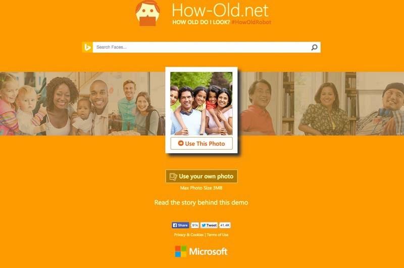 話題の年齢当てサイト!あなたの顔の年齢はいくつ?推定年齢表示サイト(How-Old.net)