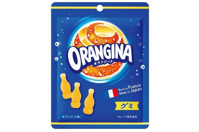 あの人気炭酸飲料の「オランジーナ」がグミになって新発売!癖になりそうなオランジーナグミ