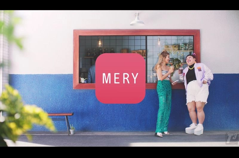 MERY第二弾CMローラと渡辺直美ニアチューポーズ披露!はじらいチュール・耳チークを紹介