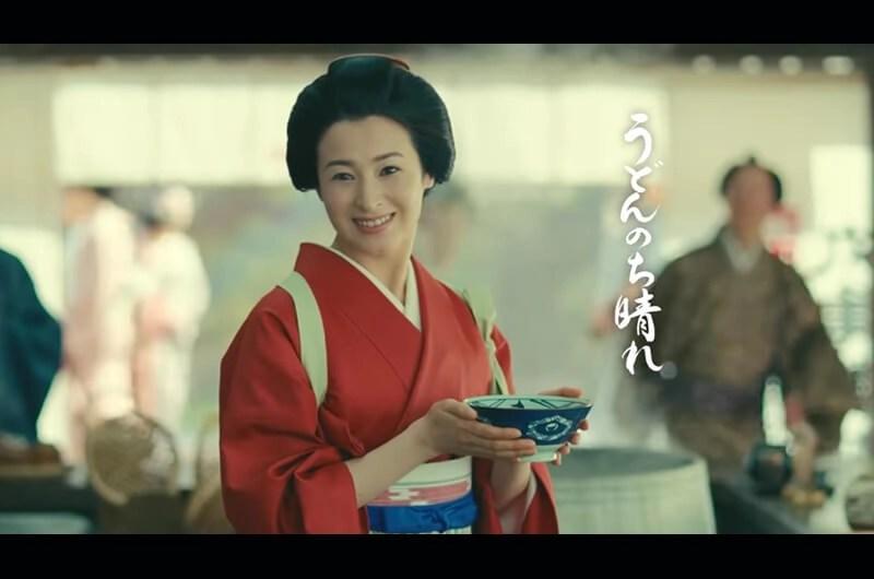 丸亀製麺麦とろ牛ぶっかけCM泣きながらうどんを食べる少女〜檀れいと恒松祐里の共演CM