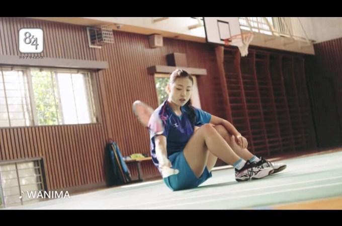 8x4ボディフレッシュCMバドミントン女子日本代表の奥原希望!CM挿入歌はWANIMA「ともに」