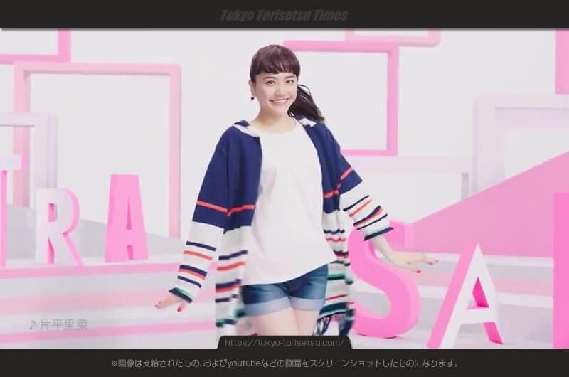 2017夏のRyuRyu(リュリュ)CM衣装替えで登場女性!松井愛莉(まついあいり)