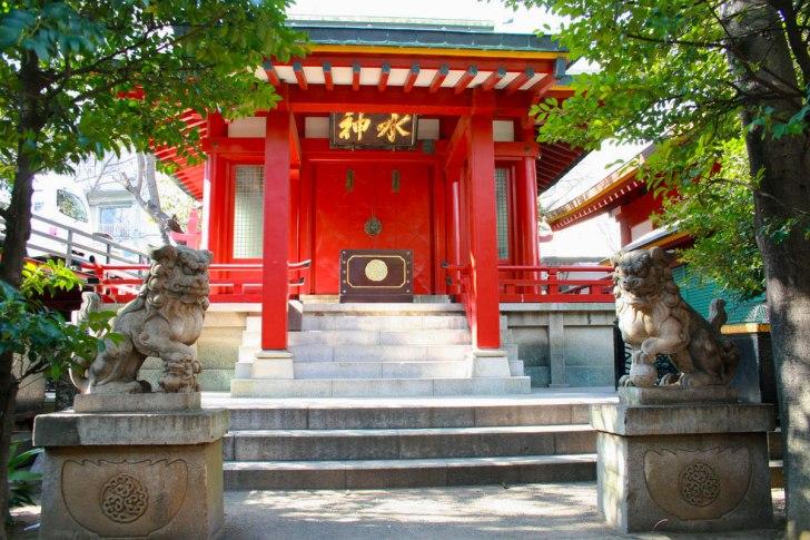 魚河岸水神社