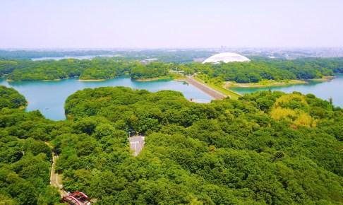 村山貯水池(多摩湖)