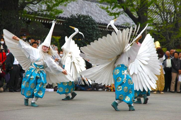 浅草寺『白鷺の舞』奉納