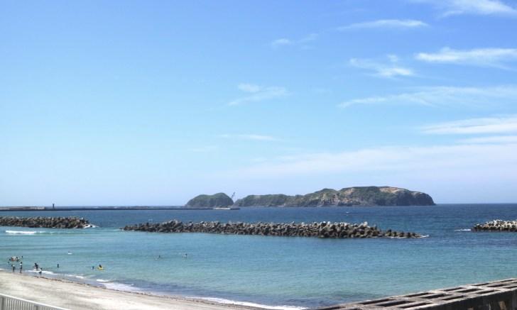 新島・前浜海岸(本村前浜海岸)