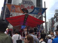 SIBUYA109前祭り本部