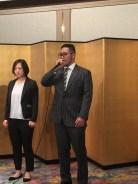 建武選手は世界大会での優勝を宣言した