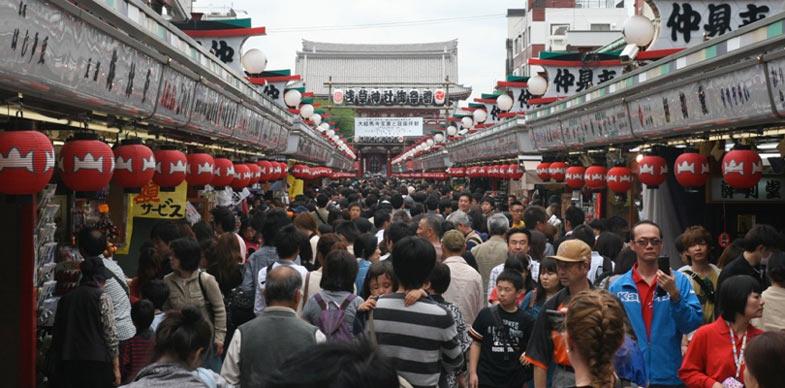 Asakusa old east Tokyo