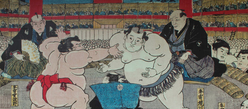 geschiedenis Tokyo sumo worstelaar