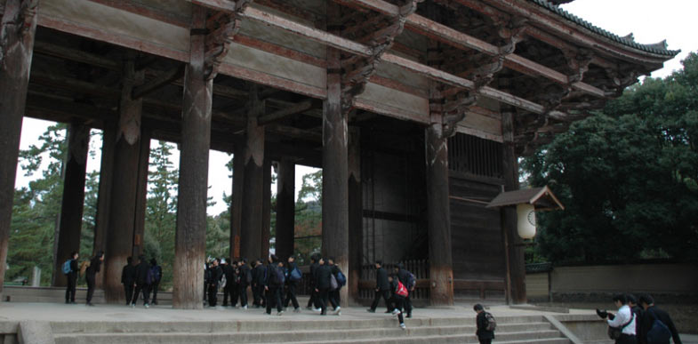 Tempel in Nara Japan