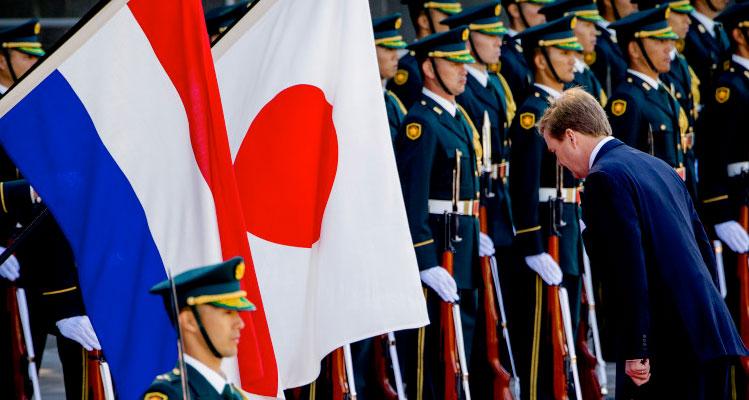 staatsbezoek Koning Willem-Alexander aan Japan in 2014