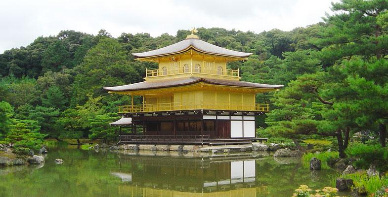 Kyoto het gouden paviljoen