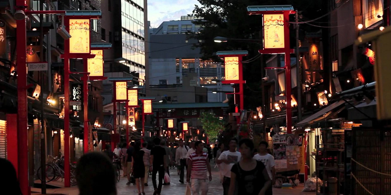 Backpacking en flashpacking door Japan