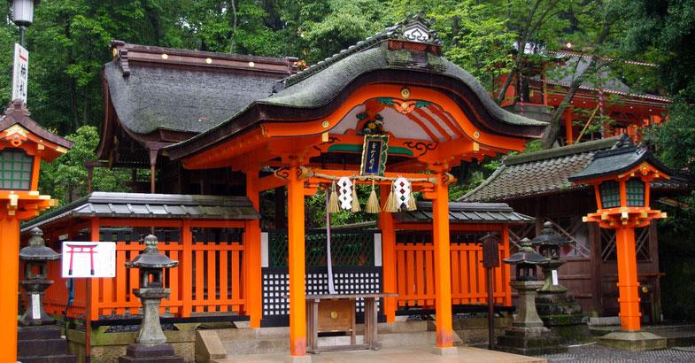 Fushimi Inari Taisha tempelgebied