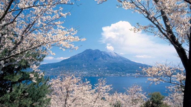 Вулкан Кагосима Сакурадзима