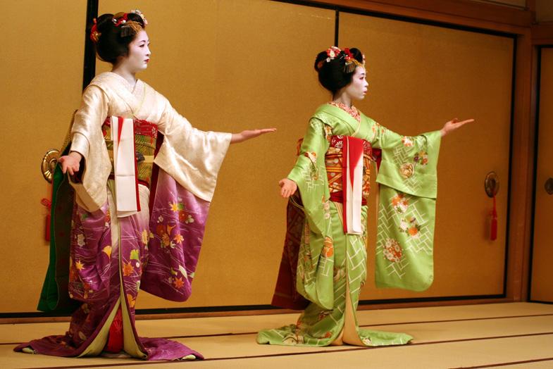 Geisha Japanse dans