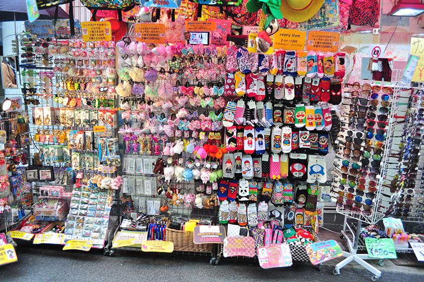 Harajuku winkels Tokyo