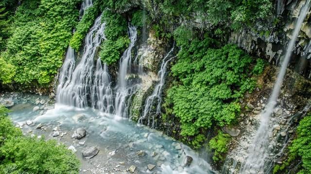 Водопады Хоккайдо Япония