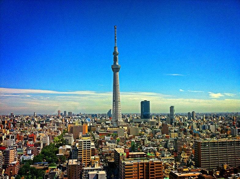 Skyline Tokyo Tower