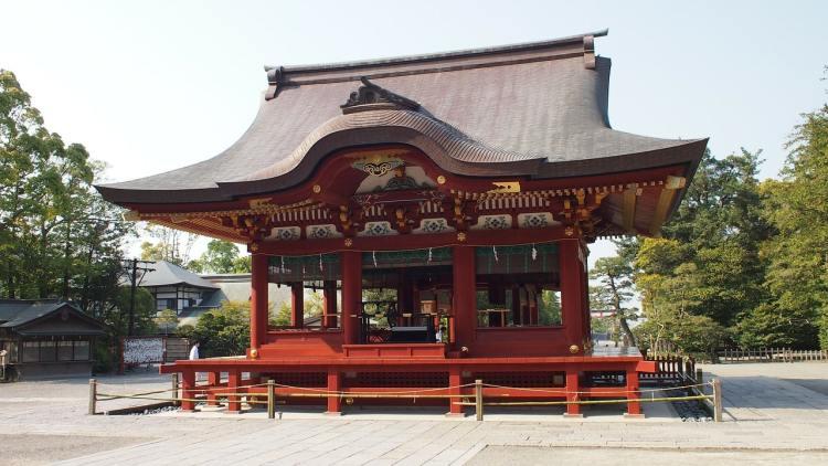 храм Камакура Япония