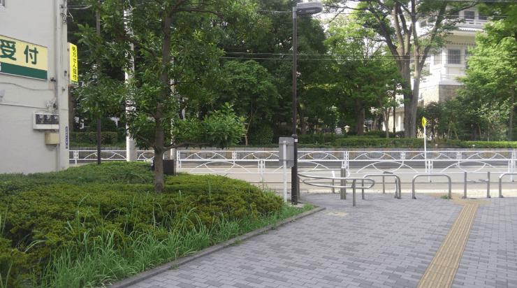 Former Yasuda garden – Japanese garden near the Edo Tokyo Museum route3