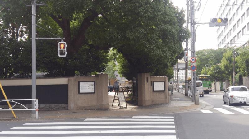 Former Yasuda garden –route4