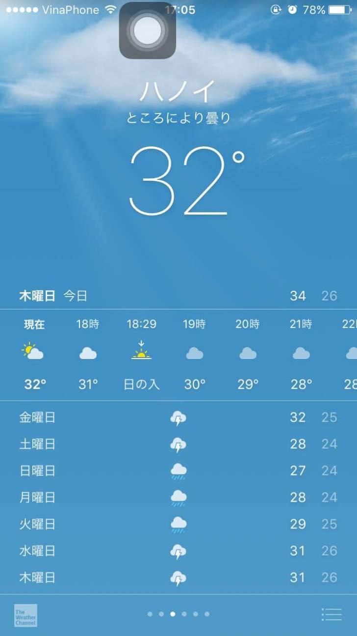 ハノイの天気 気温 5月 1