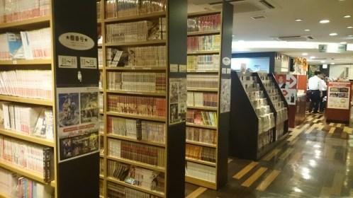 So many manga to choose from!