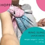 Tokyo Sling Library Ring Sling Hoppediz