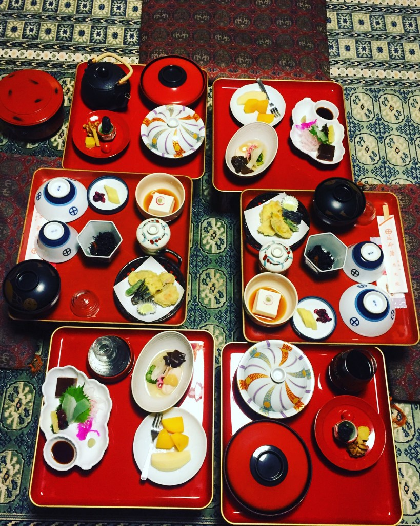 Shojin Ryori - the food of Buddhist monks - this dinner was so delicious!
