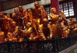 天台山国清寺 五百羅漢