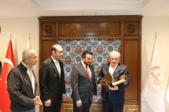 2019.11.05 Visitation of Prof. Dr. Mustafa Şentop, Speaker of the Grand National Assembly of Turkey 04