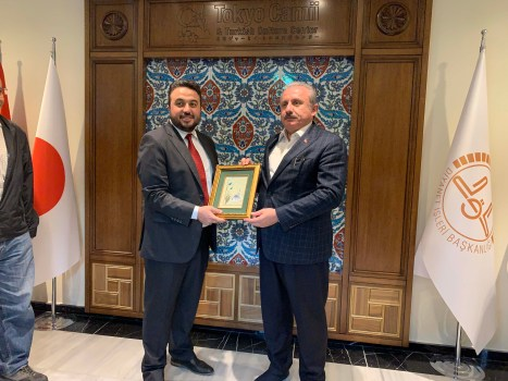 2019.11.05 Visitation of Prof. Dr. Mustafa Şentop, Speaker of the Grand National Assembly of Turkey 11