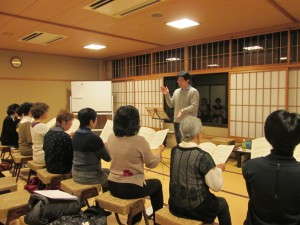 増上寺練習