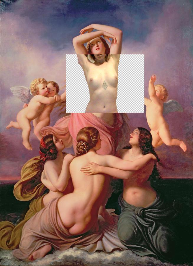 camgirls-project-in-progress-2013-Eduard-Steinbruck-The-Birth-of-Venus-1846-X-plites