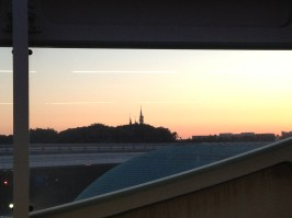 Disney! at dusk