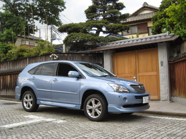Toyota Harrier Andy Friend