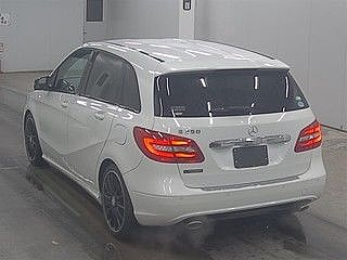 2013 Mercedes Benz B250 Blue Efficiency