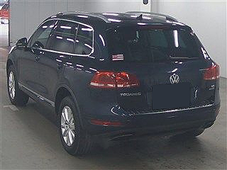 2012 Volkswagen Touareg 4WD V6 Bluemotion Technology