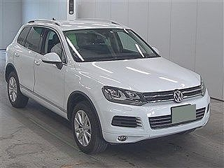 2012 Volkswagen Touareg 4WD V6 Bluemotion Technology