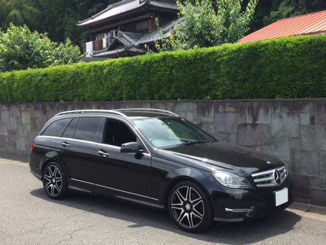 Buy a car in Japan Mercedes Benz C200 Avantgarde AMG Sport