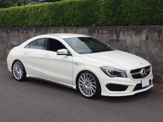 Buy a car in Japan Mercedes Benz CLA180