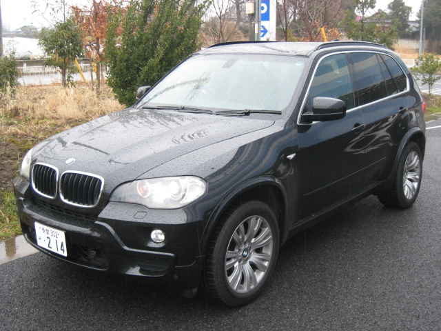 sell your car in Japan BMW X5