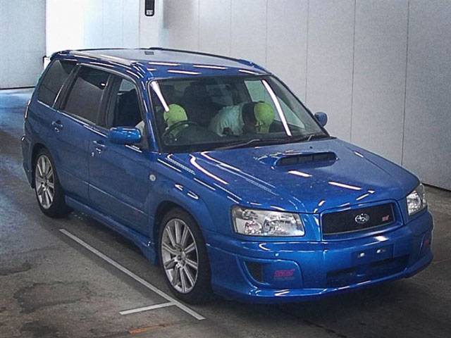 2004 Subaru Forester STi Version 4WD World Rally Blue