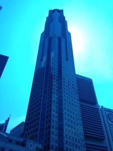 大きな金融系などのビルが立ち並んでいます